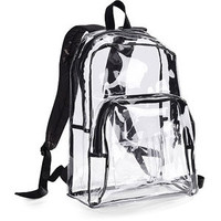 Walmart: Eastsport Clear Backpack