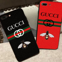 GUCCI iphoneX mobile phone shell I fashion creative women's full bag anti - fall