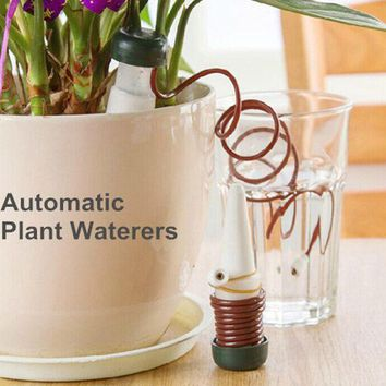 ONETOW Hot Automatic Plant Waterer Watering Potted Flowers Drip Irrigation Device Creative Garden Tools