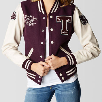 WOMENS RICHIE VARSITY JACKET -  Outerwear | True Religion Brand Jeans
