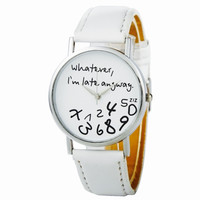 Hot Women Leather Watch