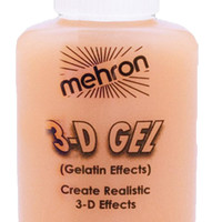 3-d Gel Flesh Gelatin Effects