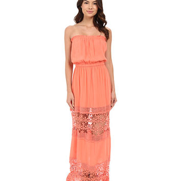 6 Shore Road by Pooja Charlotte Maxi Dress Cover-Up Watermelon - Zappos.com Free Shipping BOTH Ways