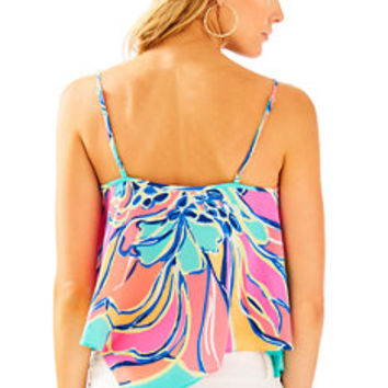 Fleur Top | 27688 | Lilly Pulitzer
