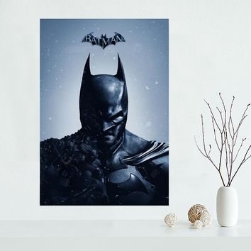 Custom Canvas Poster Batman Canvas Painting Poster High Quality Wall Art Poster Fabric Cloth Print