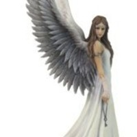 Gothic Art | Spirit Guide Statue by Anne Stokes