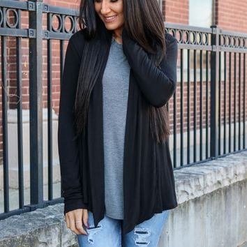 Back to Basics Cardigan - Black