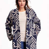 Old Navy Open Front Plus Size Cardigan Coat