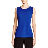 Lafayette 148 Womens Knit Sleeveless Tank Top Sweater