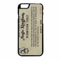 Disney World Readmission Ticket iPhone 6 Plus Case