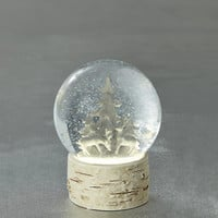 Lit Deer Snow Globe | M&S