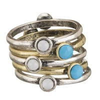 two sided stackable rings