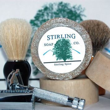 Stirling Soap Co - Stirling Spice  in labeled screw top tin