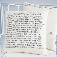 'twinkle twinkle' cushion by door 77 | notonthehighstreet.com