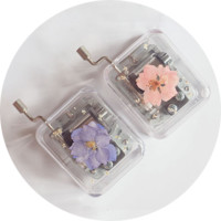 Handcrafted Flower Music Box by LEMON BUN