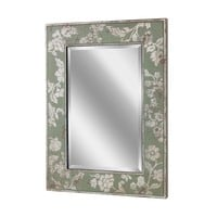 Silver Bloom Wall Mirror (1151) - Illuminada
