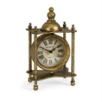 Mantle Clock - Antique Finish