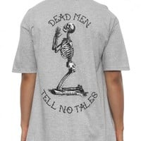 Dead Men Tee Grey Heather