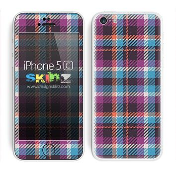 Pink and Blue Paid V2 Skin For The iPhone 5c