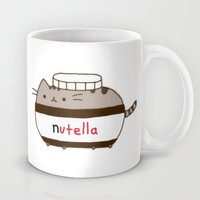 Nutella Cat Mug by Wis Marvin