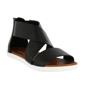 Deana Strappy Sandal in Black