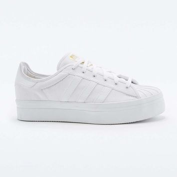 Adidas Superstar Rize White Trainers - Urban Outfitters