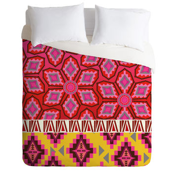 Mary Beth Freet Navajo Border Duvet Cover