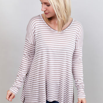 Your Best Stripes Top By BB Dakota