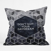 Elisabeth Fredriksson Dont Quit Your Daydream Throw Pillow
