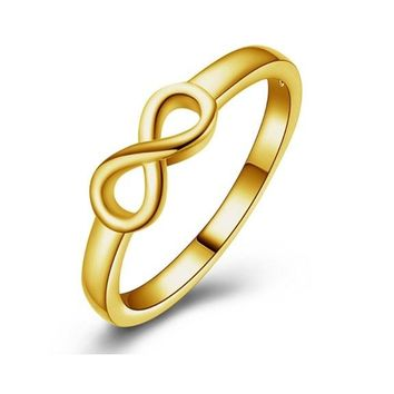 Gold Fashion Silver Ring