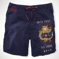 Dragon-Detail Swim Trunk - Swim Shop   Men - RalphLauren.com