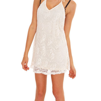 Quick Change Tunic Dress - Ivory Lace