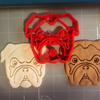 Bulldog Cookie Cutter