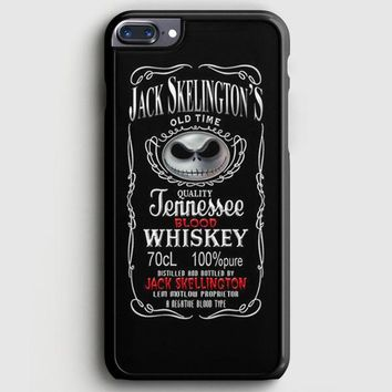 Jack Skellington Whiskey Daniels iPhone 8 Plus Case | casescraft