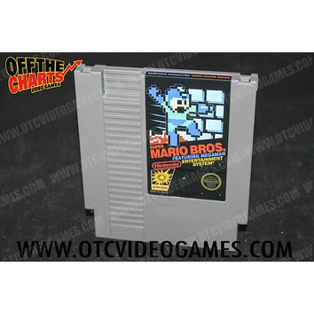 Super Mario Bros. Featuring Mega Man *REPRODUCTION*