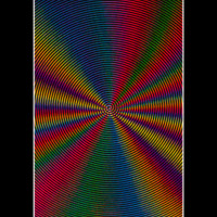 BL6030 - Spiral Illusion Blacklight Poster