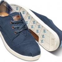 Navy Canvas Men's Paseos