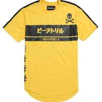 Been Trill Micro Mesh Soccer Jersey - Mens Tee - Gold