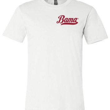 Official NCAA Venley University of Alabama Crimson Tide UA ROLL TIDE! Bama T-Shirt - 12AL-2