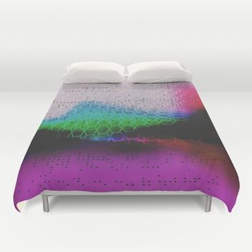 Heavy Glow  Duvet Cover by DuckyB