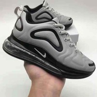 Nike Air Max 720 Kid Shoes Black Grey Child Sports Shoes - Best Deal Online