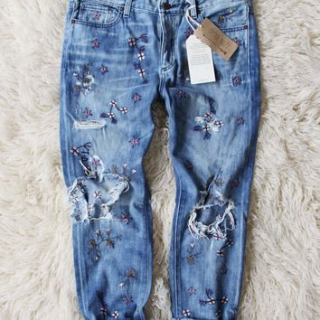 Spool + Lucky Embroidered Jeans