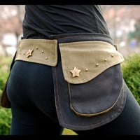 Star Power - Belt Pocket, Hip Bag, Utility Belt, Festival Pocket Belt