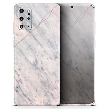 Slate Marble Surface V12 - Skin-Kit for the Samsung Galaxy S-Series S20, S20 Plus, S20 Ultra , S10 & others (All Galaxy Devices Available)
