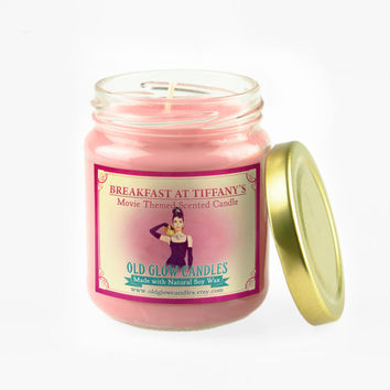 Breakfast at Tiffany's Inspired Scented Soy Candle