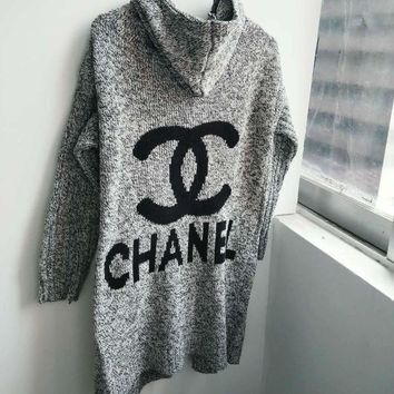 PEAPON Chanel LV Louis Vuitton Adidas Hooded Sweater Knit Cardigan Jacket Coat
