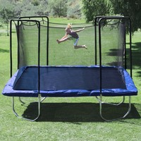 Skywalker Trampolines 15' Sq Trampoline and Enclosure - Blue - Sam's Club