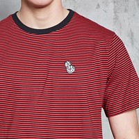 Dice Graphic Stripe Tee