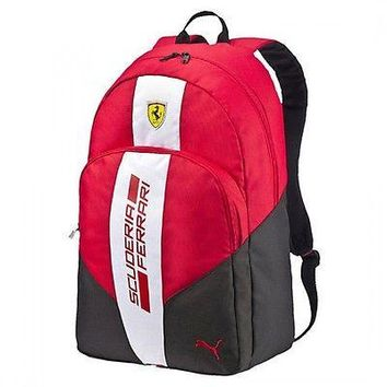 Puma Ferrari Red Fanwear Backpack
