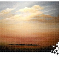 Modern Jigsaw Puzzle 1000 pieces By Rosie Brown Artworks 'Big Florida Sky'
